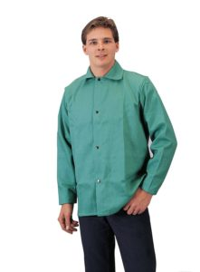 Tillman 6230-M Lightweight 30 Inch Green Jacket Flame Retardant Cotton