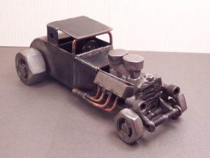 welded car art