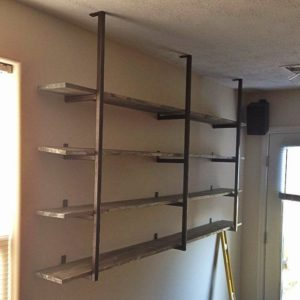 welded metal shelving