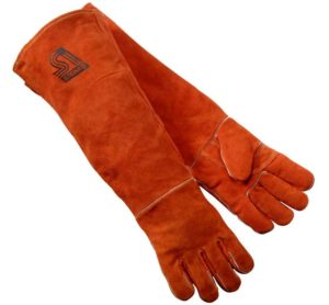 Steiner 21923-L burnt orange 23-Inch welding gloves
