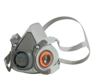 3M Half Mask Respirator 6300