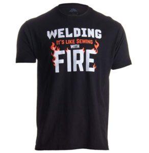 welding gift t shirt