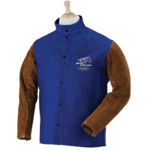 Black Stallion Hybrid FR and Cowhide Welding Jacket (2)