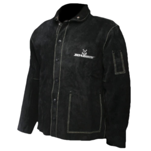 Caiman Black Boarhide Jacket
