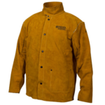 Lincoln Electric Brown Leather Welding Jacket (2)