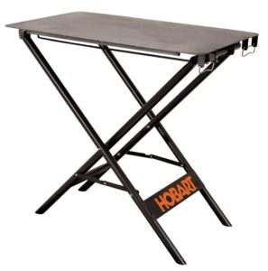 Hobart folding welding table
